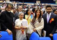 Abhishek Bachchan proud over father Amitabh Bachchan's National Award win