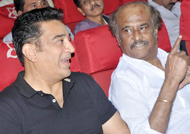 Rajinikanth invited for Kamal Haasan's Movie Launch