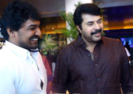 Mammootty talks high about Kasba director