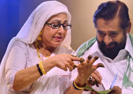 Veteran Actors Madhu & Sheela act in a love song for Premalekhanam
