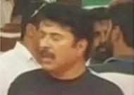 Mammootty's Joppan look from the sets