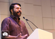 Mammootty at Sharjah International Book Fair