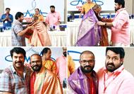 Mohanlal and Mammootty felicitates jayasurya
