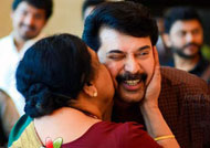 The story of a kiss for Mammootty