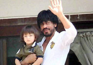 See How: Shah Rukh Khan's 'Father's Day' was made special
