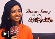 Shaun Romy: Lucky for a dark girl to become Dulquer Salmans pair | Kammatipaadam