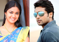 Keerthy Suresh teams up with Suriya