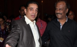 Kamal Haasan's reaction to party man who trolled Rajini