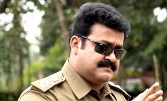 Mohanlal to play a police trainer