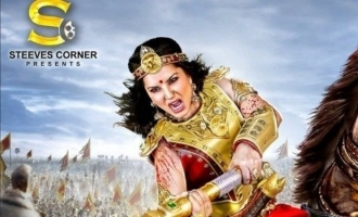 Sunny Leone looks bold, fierce and unstoppable in 'Veeramadevi' first look!