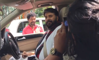 So Sweet! Mammootty surprises his fan
