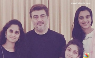 PV Sindhu's pic with Ajith goes viral