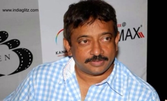 RGV reveals semi-nude pic with porn star
