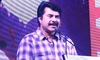 Mammootty Funny Speech : I'M The Only Person Available To inaugurate I AM | Adfilm Makers