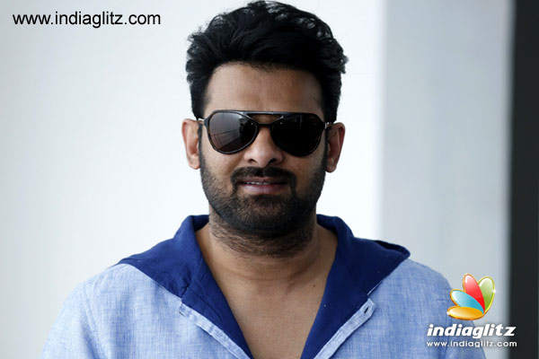 Prabhas' First Look, Teaser date