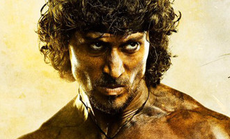 FIRST LOOK: Tiger Shroff in & as 'Rambo'