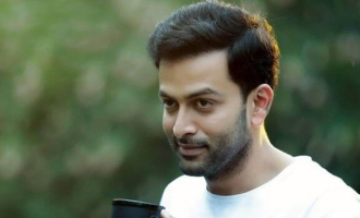 This young actor says, 'I'm a huge fan of Prithviraj'