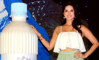 Sunny Leone urges people to save water
