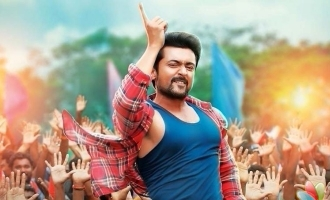 Surya taps his feet to 'Sodakku' with fans!