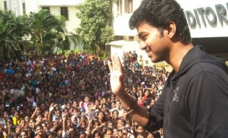 Vijay fans join together for a massive protest - details