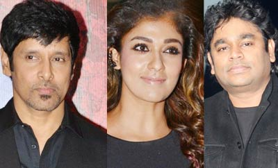 Vikram, Nayanthara, ARR & others win State Awards