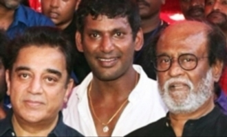 Will people support Kamal or Rajini?-Vishal opens up