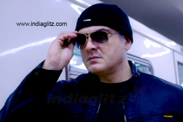 A new version of 'Never Ever Give Up' in 'Vivegam'