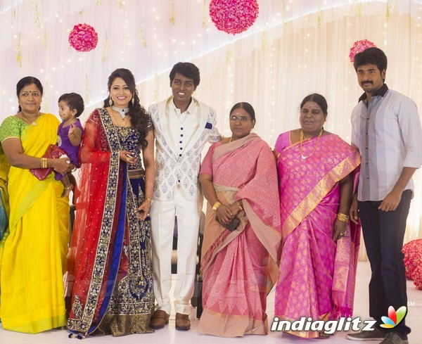 Tamil Actor Radha Ravi Son Wedding and Reception  YouTube