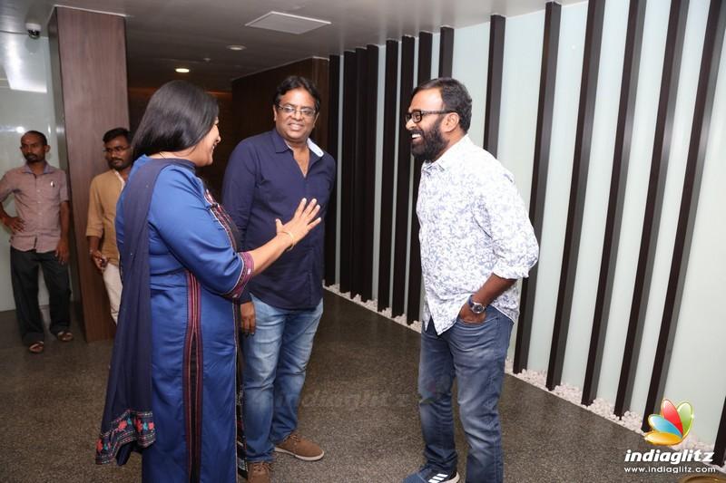Celebrities at 'Anumanum Mayilravananum' Special Show