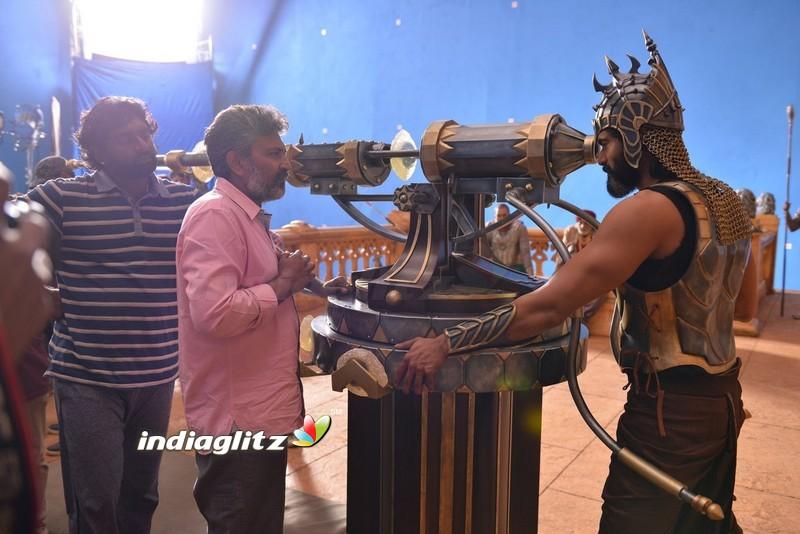 'Baahubali 2' Shooting Spot