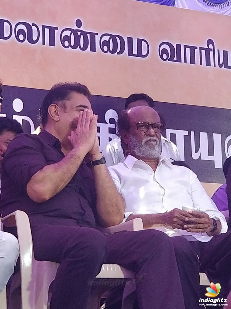 Celebrities  at Nadigar Sangam Protest