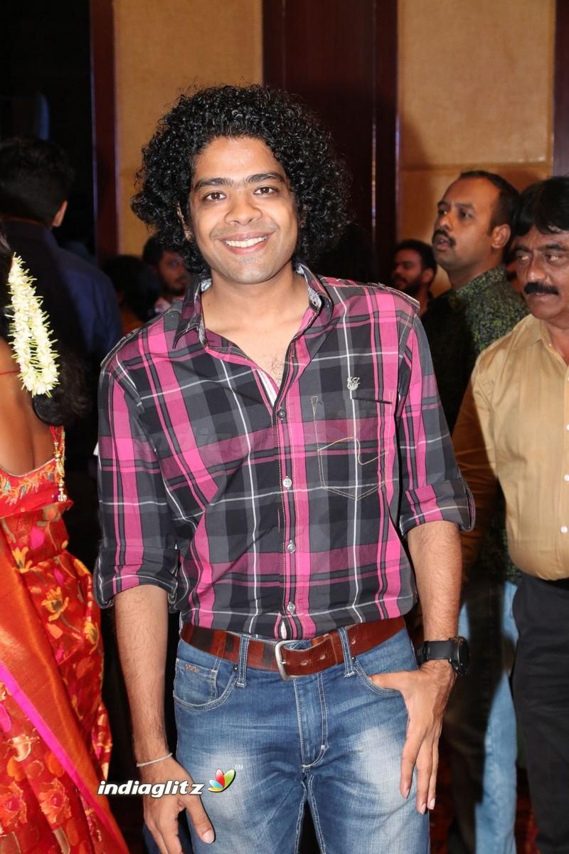music director dharan kumar wedding reception