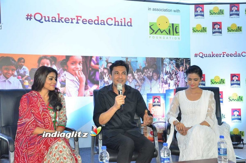 Quaker and Smile Foundation's 'Feed A Child'