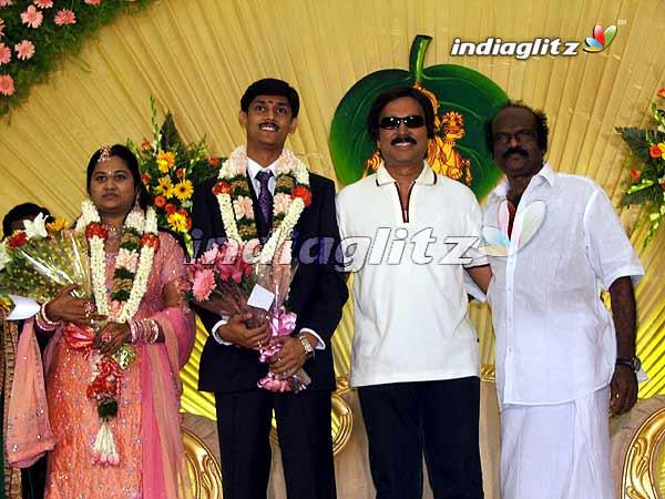 Comedian senthil son wedding