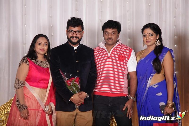 Tv Actor Isvar Tv Actress Jayashree Wedding Reception