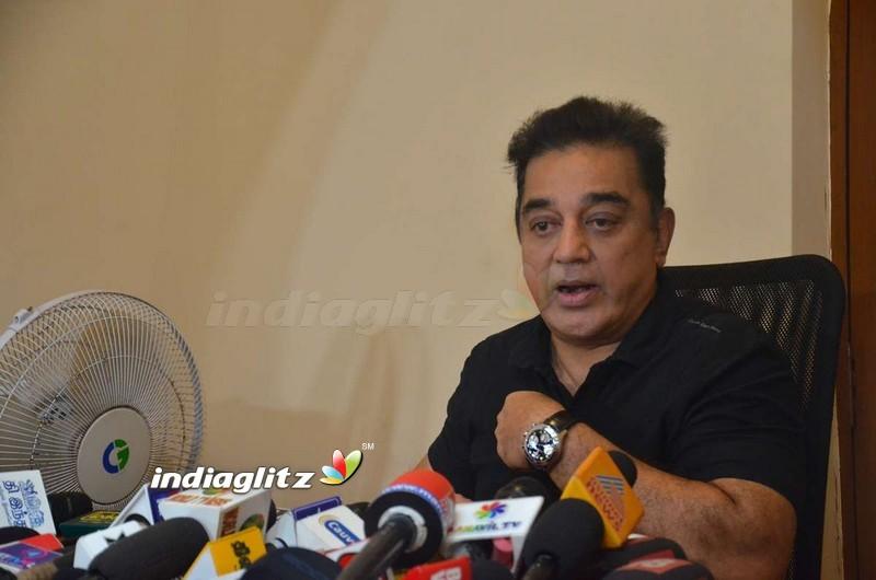 Kamal Haasan Meets The Press