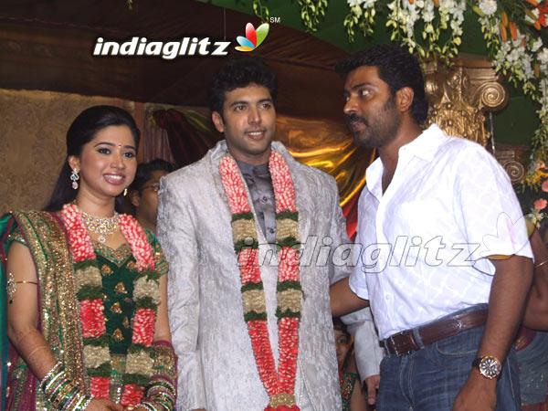 Jeyam Ravi Wedding Reception