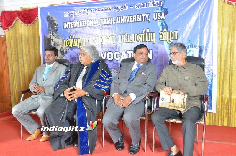 Doctorate To Director S A Chandrasekhar