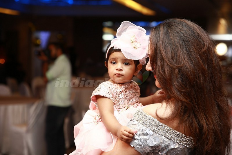 Sridevi Vijaykumar Rahul's Daughter Rupikaa 1st Year Birthday Celebration