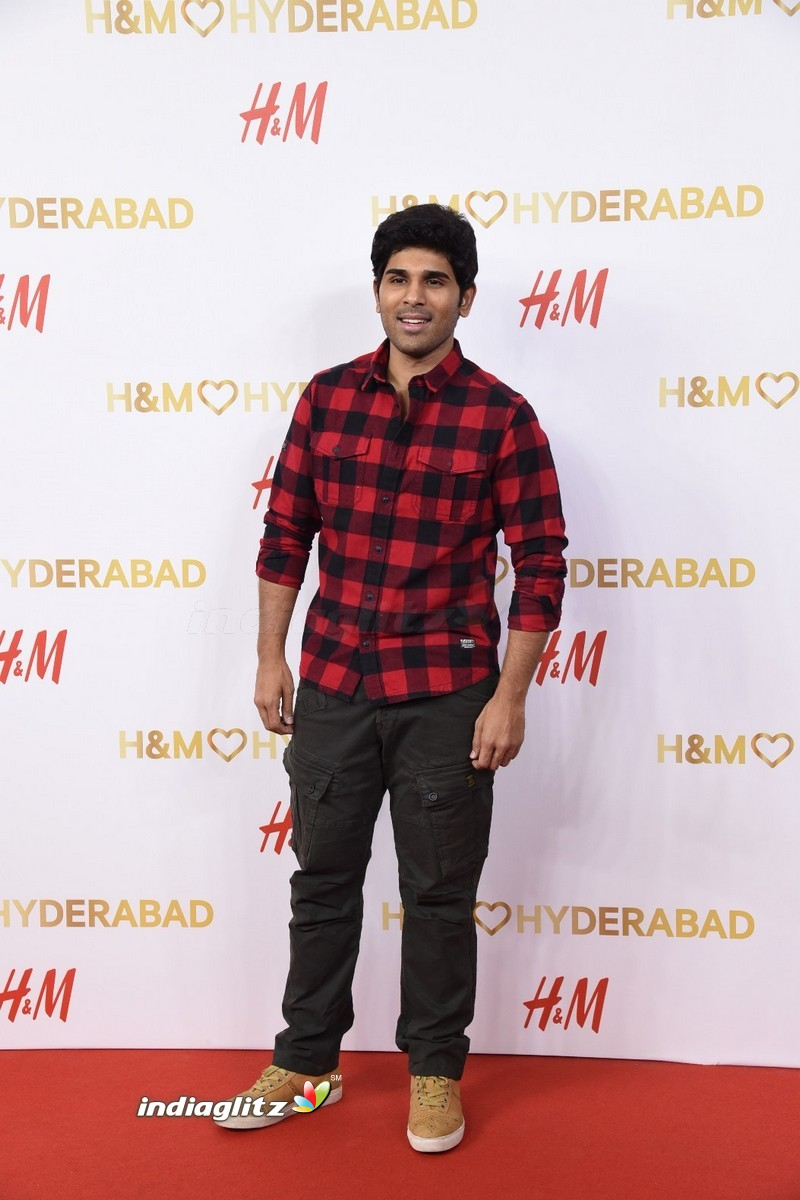 Rana Daggubati and Tamannah at the launch of H&M Store in Hyderabad