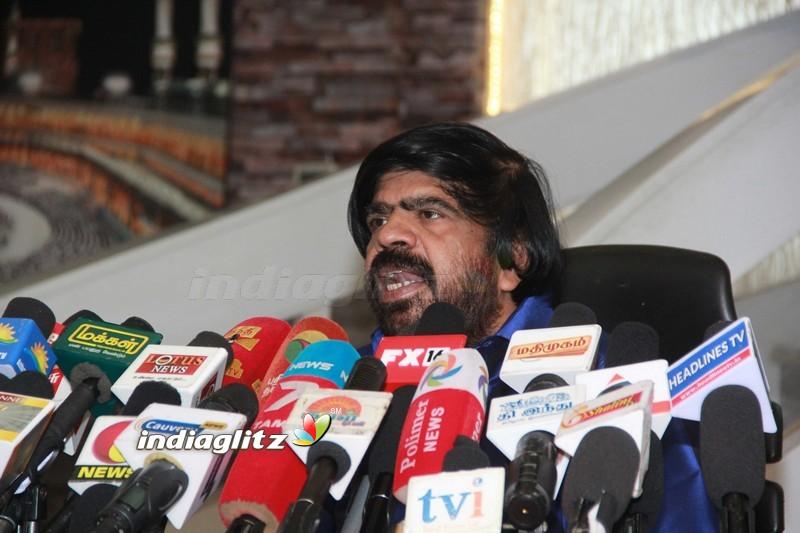 T Rajendar Press Meet