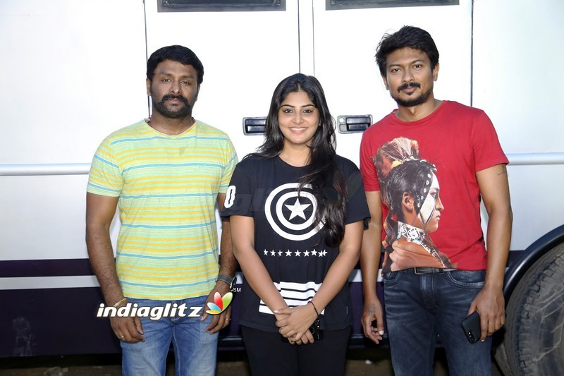 Udhayanidhi Stalin and Manjima Mohan Untitled Movie Shooting Wrapped Up