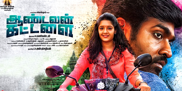 Aandavan Kattalai (2016) HDRip Tamil Full Movie Watch Online Free