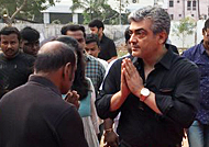 Ajith visits Nadigar Sangam after many years