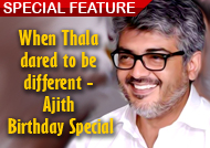 When Thala dared to be different - Ajith Birthday Special Slide show