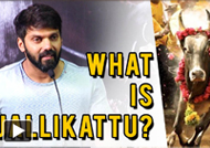What is Jallikattu? Arya Answered For His Controversial Tweet