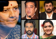 Celebrities react to Sasikala's conviction