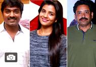 Celebrities at Dharmadurai Premiere Show Stills