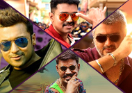 Vijay 3, Ajith 3, Suriya 3 and Dhanush 2