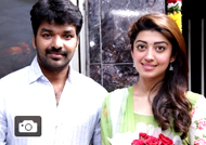 Jai & Pranitha at 'Enakku Vaaitha Adimaigal' Movie Pooja